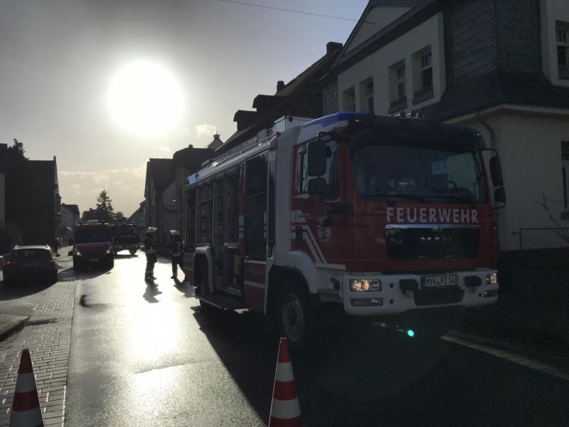 Kinder bemerkten Wohnungsbrand in Plaidt