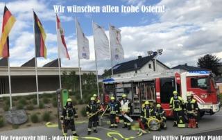 Freiwillige Feuerwehr Plaidt wünscht frohe Ostern!